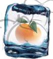 hielo mandarina