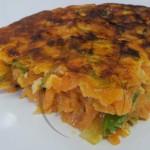 tortilla zanahorias