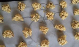 galletas quaker antes de hornear