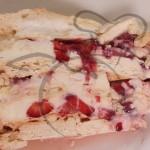 torta merengue frutilla