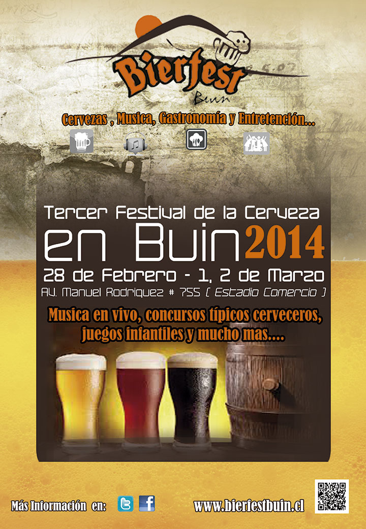 bierfest buin fiesta de la cerveza